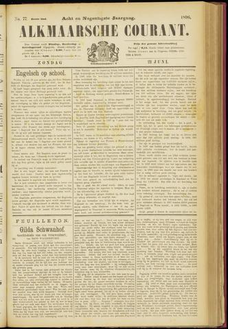 Alkmaarsche Courant 1896-06-21