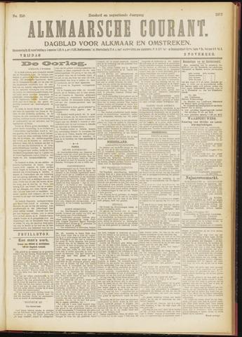 Alkmaarsche Courant 1917-11-02