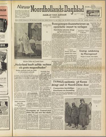 Nieuw Noordhollandsch Dagblad : voor Alkmaar en omgeving 1952-03-15