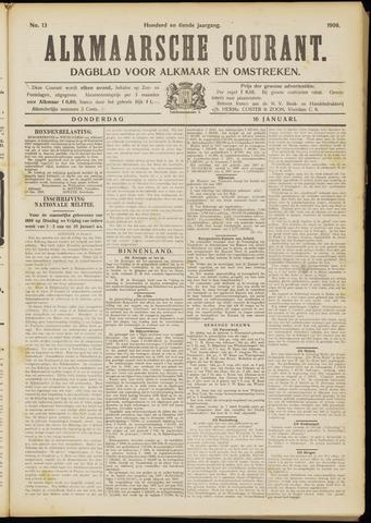 Alkmaarsche Courant 1908-01-16