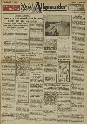 De Vrije Alkmaarder 1948-06-25