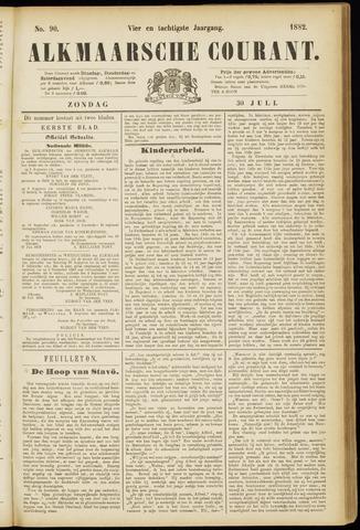 Alkmaarsche Courant 1882-07-30