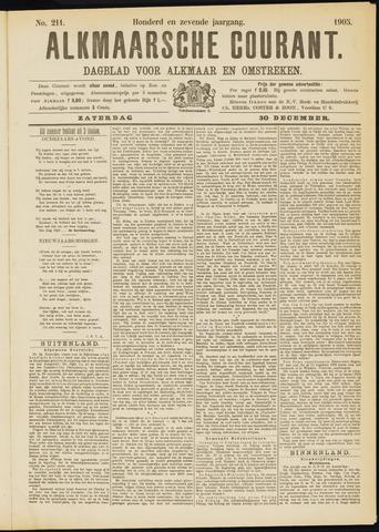 Alkmaarsche Courant 1905-12-30