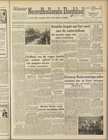 Nieuw Noordhollandsch Dagblad : voor Alkmaar en omgeving 1950-02-01