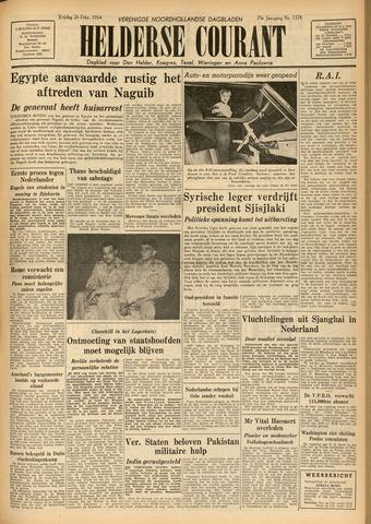 Heldersche Courant 1954-02-26