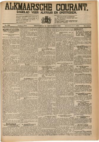 Alkmaarsche Courant 1930-09-25