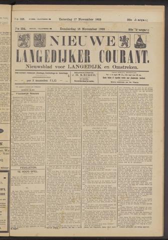 Nieuwe Langedijker Courant 1923-11-15