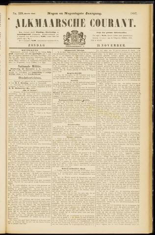 Alkmaarsche Courant 1897-11-21