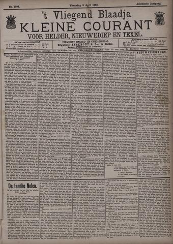 Vliegend blaadje : nieuws- en advertentiebode voor Den Helder 1890-04-09