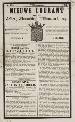 Nieuwe Courant van Den Helder 1865-03-08