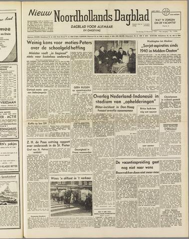 Nieuw Noordhollandsch Dagblad : voor Alkmaar en omgeving 1951-12-20
