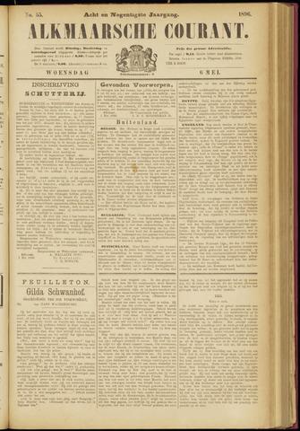 Alkmaarsche Courant 1896-05-06