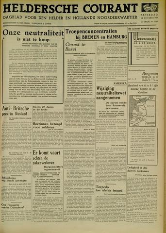 Heldersche Courant 1939-10-28