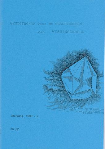 Kroniek Historisch Genootschap Wieringermeer 1999-04-01
