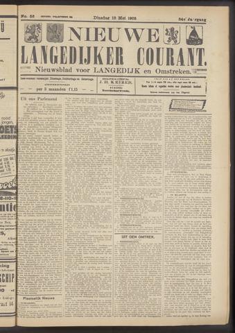 Nieuwe Langedijker Courant 1925-05-12