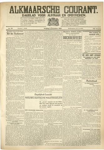Alkmaarsche Courant 1933-12-08