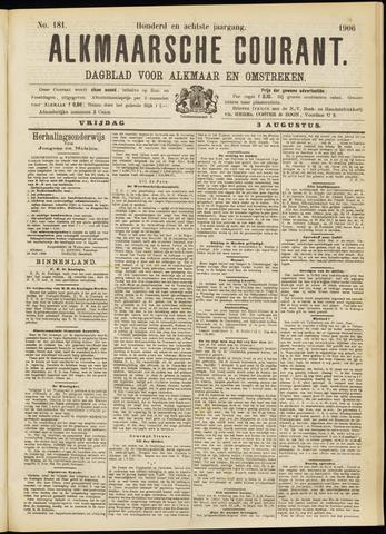 Alkmaarsche Courant 1906-08-03
