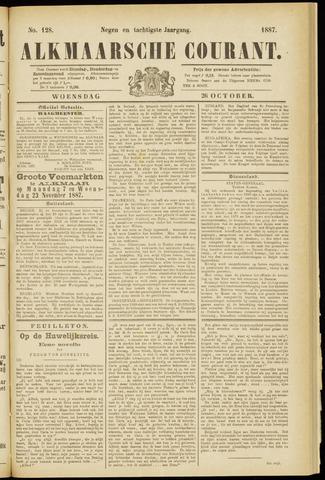 Alkmaarsche Courant 1887-10-26