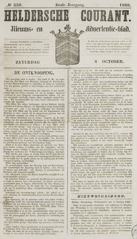 Heldersche Courant 1866-10-06