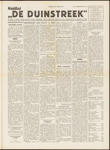 De Duinstreek 1951-04-20