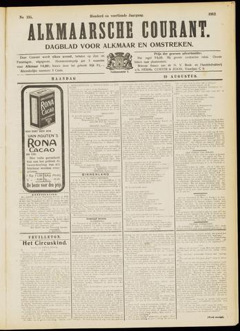 Alkmaarsche Courant 1912-08-19
