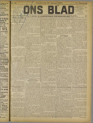 Ons Blad : katholiek nieuwsblad voor N-H 1917-01-25