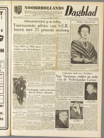 Noordhollands Dagblad : dagblad voor Alkmaar en omgeving 1959-04-29