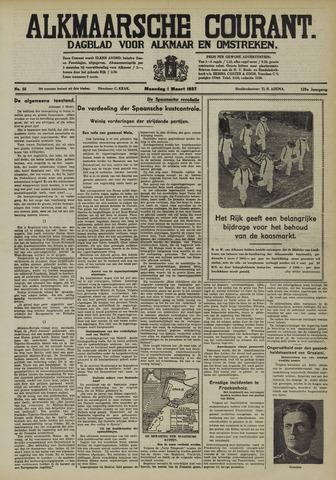 Alkmaarsche Courant 1937-03-01