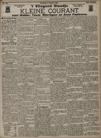 Vliegend blaadje : nieuws- en advertentiebode voor Den Helder 1906-08-11