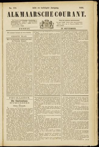 Alkmaarsche Courant 1886-09-26