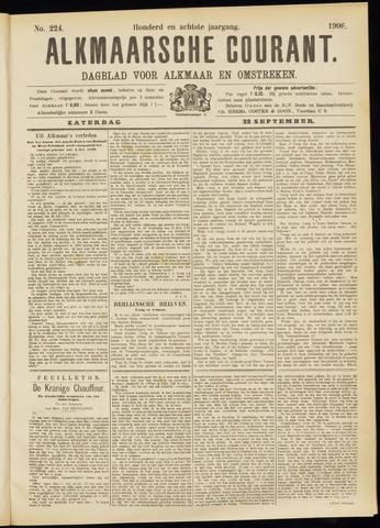 Alkmaarsche Courant 1906-09-22