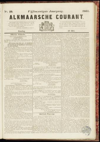 Alkmaarsche Courant 1863-05-10