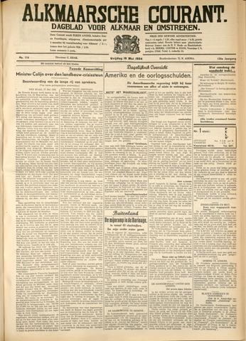 Alkmaarsche Courant 1934-05-18