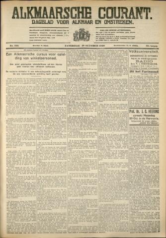 Alkmaarsche Courant 1930-10-18