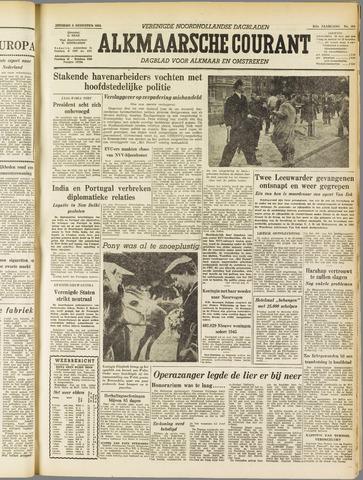 Alkmaarsche Courant 1955-08-09