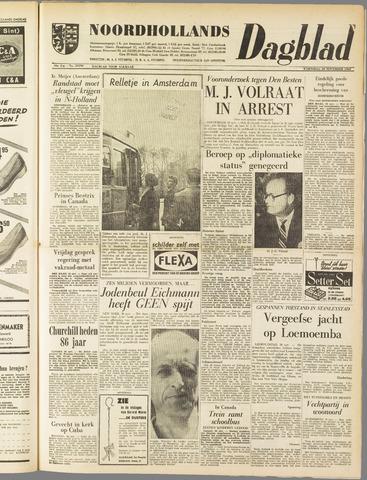 Noordhollands Dagblad : dagblad voor Alkmaar en omgeving 1960-11-30