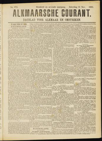 Alkmaarsche Courant 1905-11-11