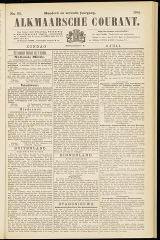 Alkmaarsche Courant 1905-07-09