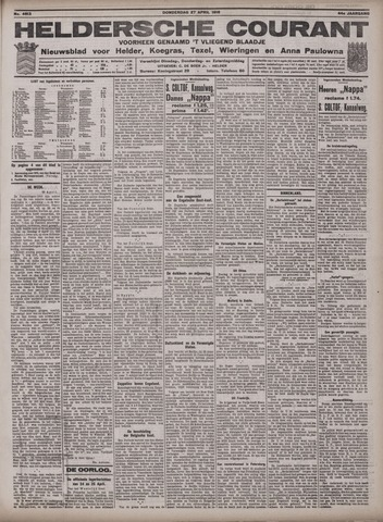 Heldersche Courant 1916-04-27