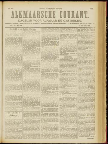 Alkmaarsche Courant 1918-10-17