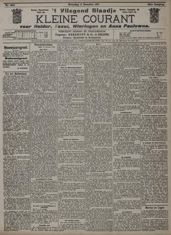Vliegend blaadje : nieuws- en advertentiebode voor Den Helder 1907-12-11