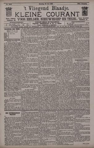 Vliegend blaadje : nieuws- en advertentiebode voor Den Helder 1895-07-20