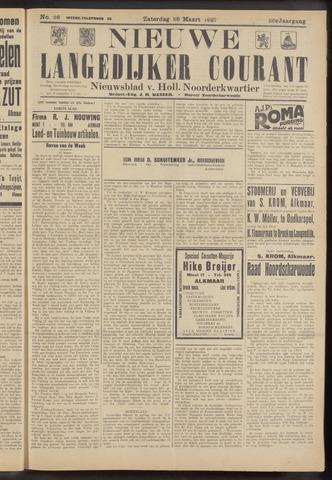 Nieuwe Langedijker Courant 1927-03-26