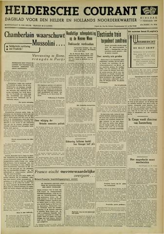 Heldersche Courant 1939-02-07