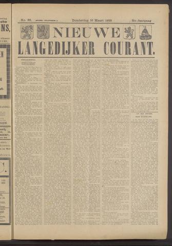 Nieuwe Langedijker Courant 1922-03-16