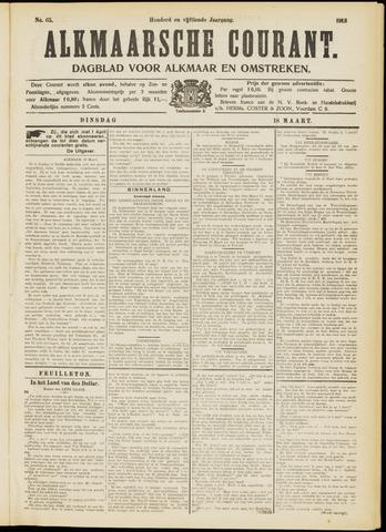 Alkmaarsche Courant 1913-03-18