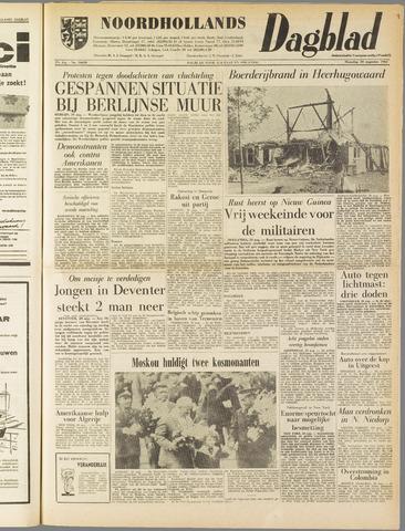 Noordhollands Dagblad : dagblad voor Alkmaar en omgeving 1962-08-20