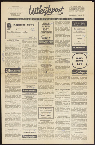 Uitkijkpost : nieuwsblad voor Heiloo e.o. 1970-01-21