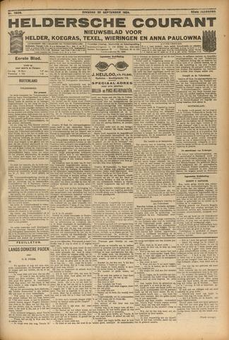 Heldersche Courant 1924-09-30