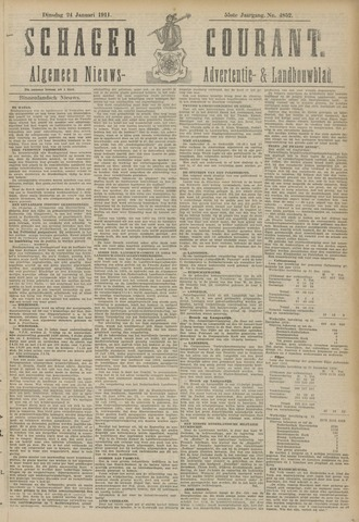 Schager Courant 1911-01-24